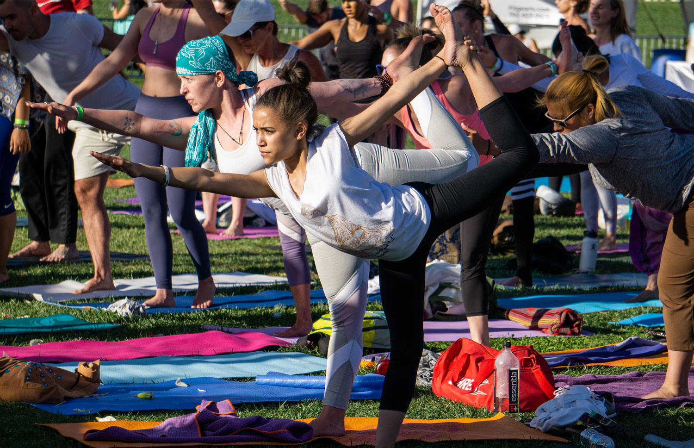 OM FEST Yoga Meditation Festival 2019 on The Lawn at ...